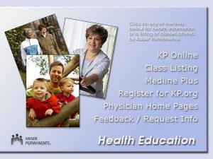 Health Education Kiosk